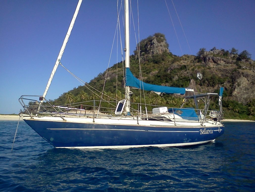 "My 31 ft boat ""Bellatrix"""